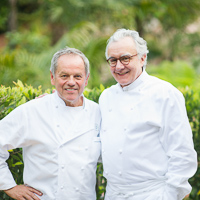 Thumbnail image for In the kitchen with Wolfgang Puck and Alain Ducasse