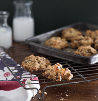 Recipe for oatmeal granola cookies