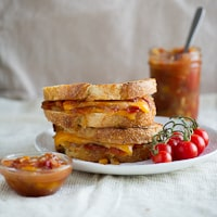 Thumbnail image for Tomato Chutney Grilled Cheese Sandwich