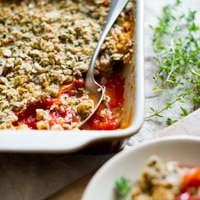 Thumbnail image for Savory Tomato Crisp Recipe
