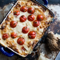 Thumbnail image for Roasted Cherry Tomato and Sweet Onion Dip- The Hot Mess