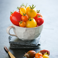 Thumbnail image for First big batch of heirloom tomatoes
