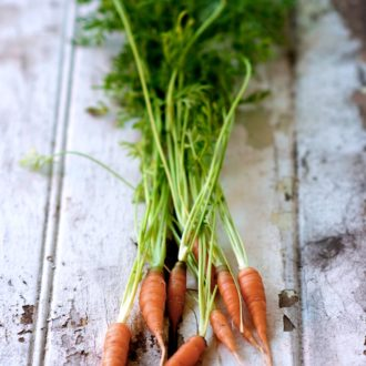 Don't Waste Edible Greens: Beet, radish, carrot tops are delicious | @whiteonrice