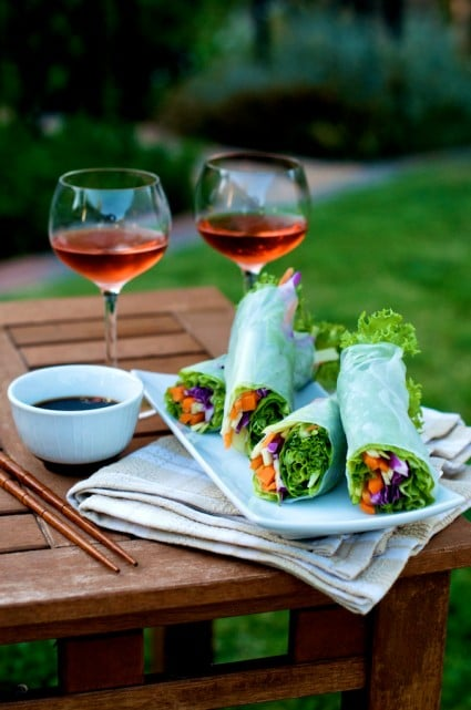 vegetable-spring-rice-paper-rolls