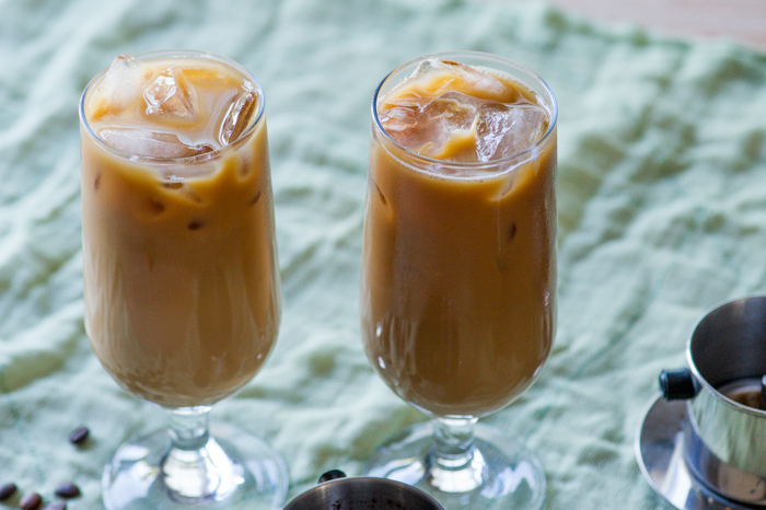 Vietnamese Iced Coffee Recipe that's sweet and full of coffee flavor | @whiteonrice