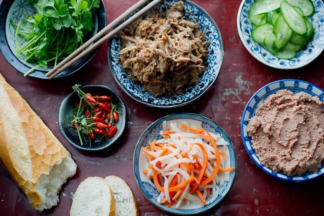 vietnasmee banh mi pickles recipe @whiteonrice