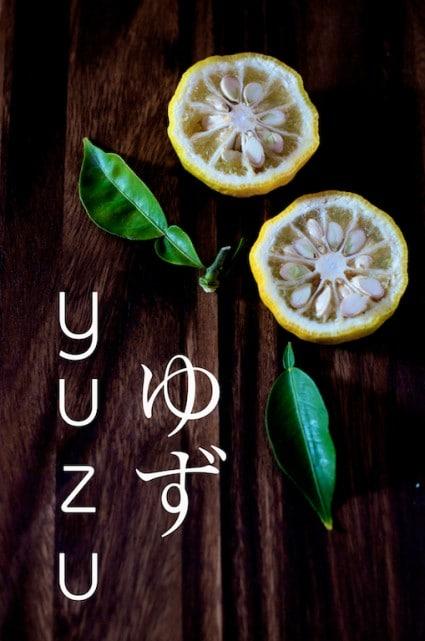 Yuzu Cocktail Recipe from this fragrant Japanese Citrus | @whiteonrice