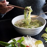 Zucchini Noodle Vietnamese Pho