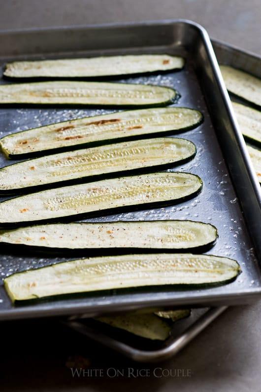 Low Carb Zucchini Lasagna Recipe with No Pasta   @whiteonrice
