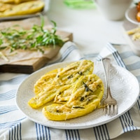 Thumbnail image for Roasted Zucchini with Cheese and Herbs